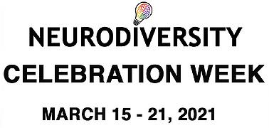 Neurodiversity Celebration Week 2021